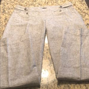 Pants with side zip